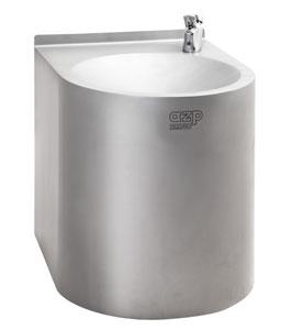AFO nerezová fontánka s pitnou vodou na ručné ovládanie