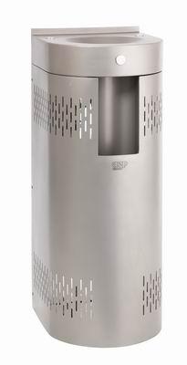 AFO 01.SCL nerezová pitná fontánka s chladením a výdajom vody do fľaše, na postavenie ku stene